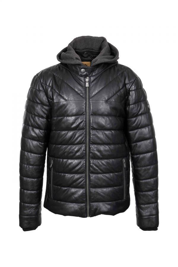 OB-inventofashion-muska-kozna-jakna---Black-Teodor---Black---front