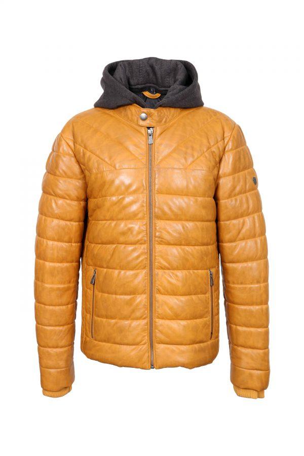 OB-inventofashion-muska-kozna-jakna-Teodor---Yellow---front
