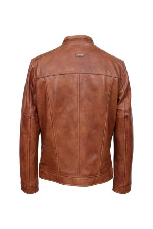OB-muska kozna jakna inventofashion-Charlie---Cognac---back